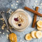 NUTRITION – 5 Health Benefits of Oats + A Protein Oatmeal Smoothie Recipe.